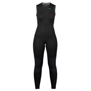 Women's NRS Farmer Jane 2.0 Wetsuit | Black | Front View