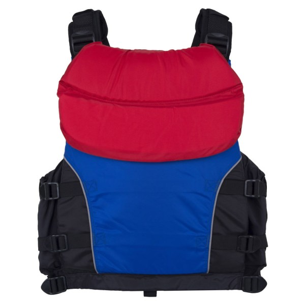 Unisex NRS Universal Big Water V PFD | Blue Red | Back View