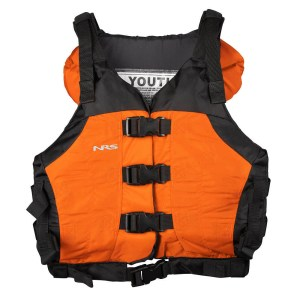 Youth NRS Universal Big Water V PFD   Orange   Front View