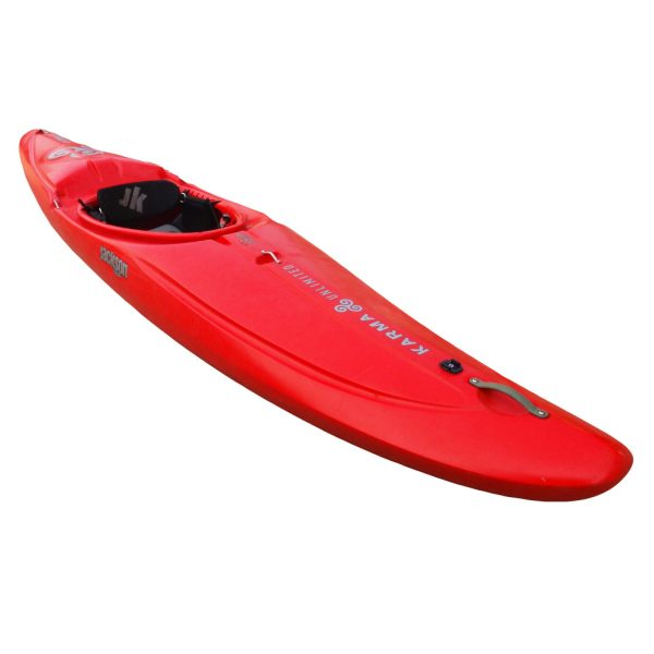 Jackson Kayak | Karma Unlimited | Red | Whitewater Race