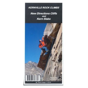 Herb Laeger Kernville Rock Climbs Guide Front