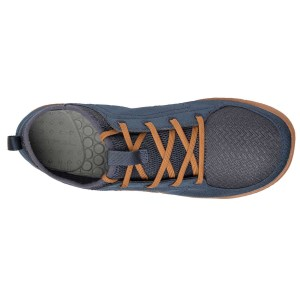 Men's Astral Loyak Water Shoe | Navy/Brown | Top View