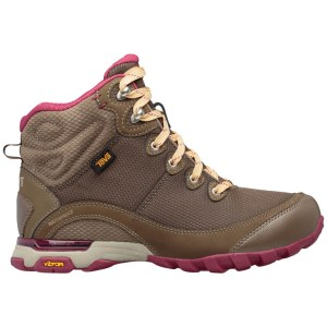Teva Women's Sugarpine Mid WP | Chocolate Chip | Side View
