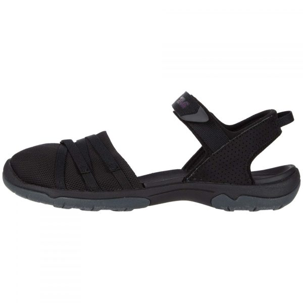 Teva Women's Tirra CT | Black | Side View
