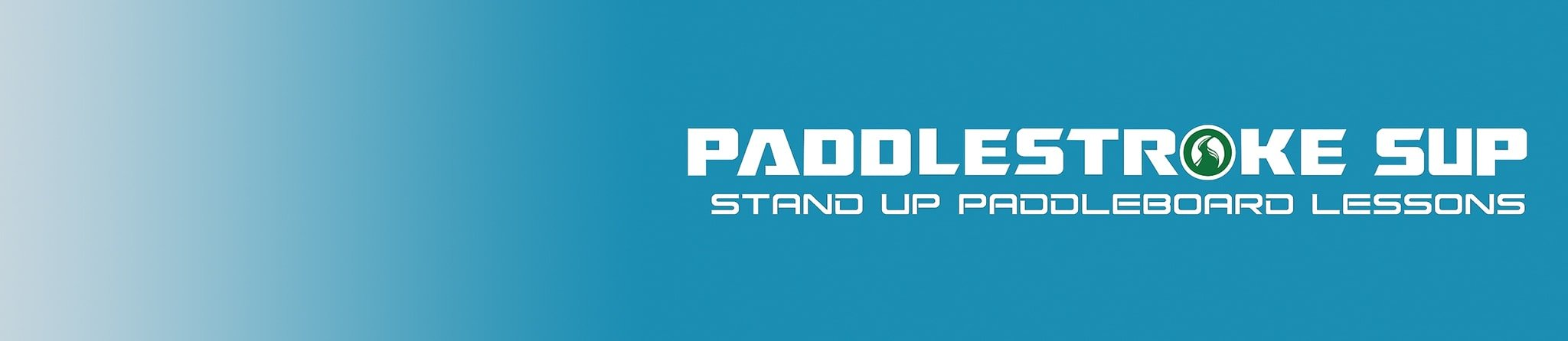 Paddlestroke SUP logo and banner