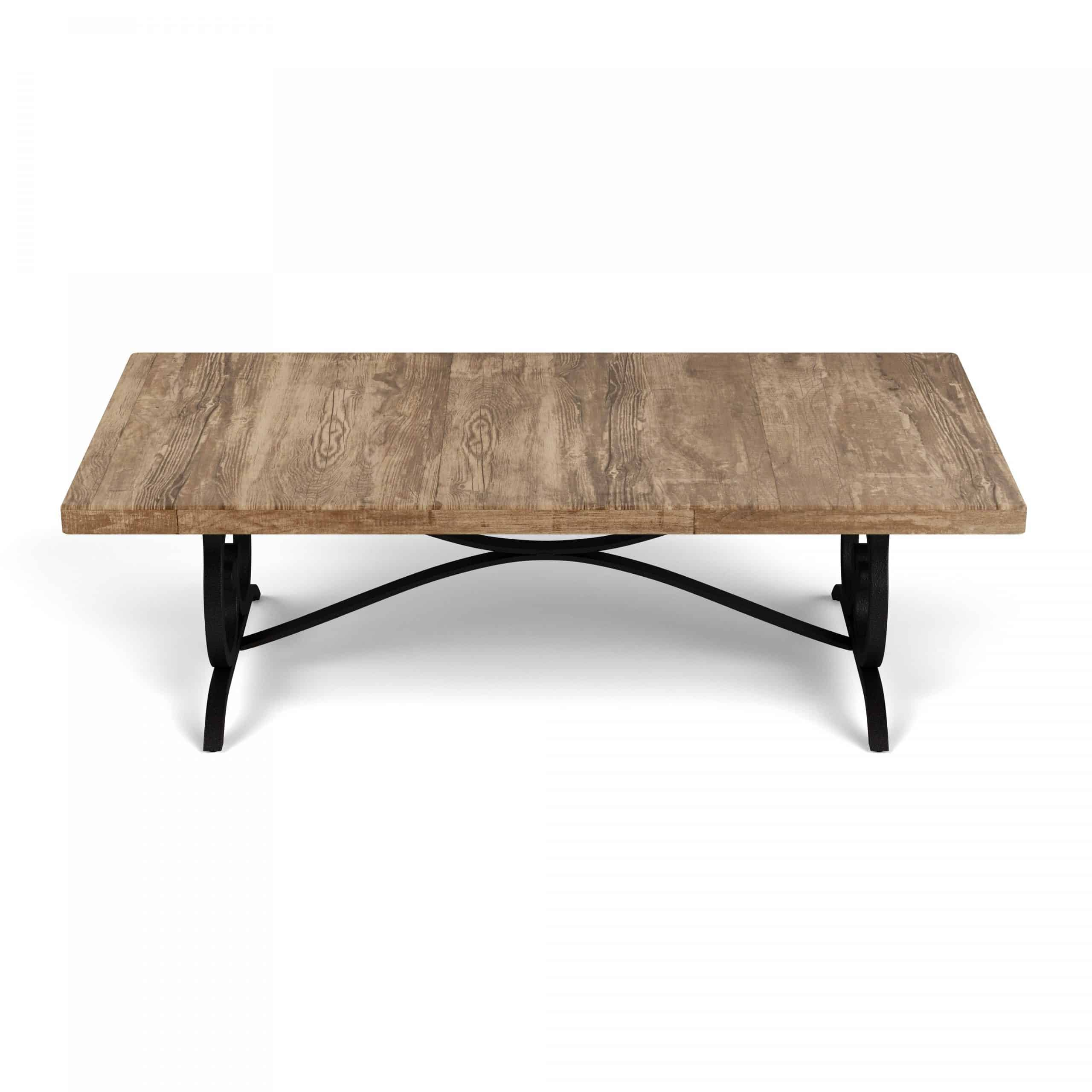 60 x 30 rectangle coffee table reclaimed top