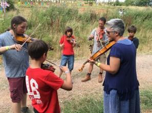 Festival Fiddle Workshops For All The Family