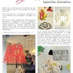 Exposition alternative / Molo sur le destroy / Art et culture