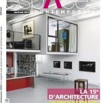 magazine espace contemporain, espaces du design, 15n d'architecture, tendances, maison, artistique