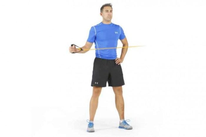 Manguito de los rotadores externos ejercicio