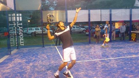 Novak Djokovic padelgood Novak Djokovic también juega al padel.