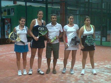 campeonas Espa%C3%B1a Sub23 2011 padelgood Clara Siverio y Teresa Navarro, Campeonas de España sub-23