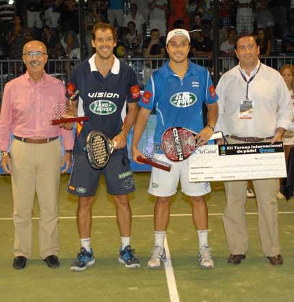 campeones castellon padelgood Ganaron los números uno en los XII Internacionales Castellón Mediterráneo