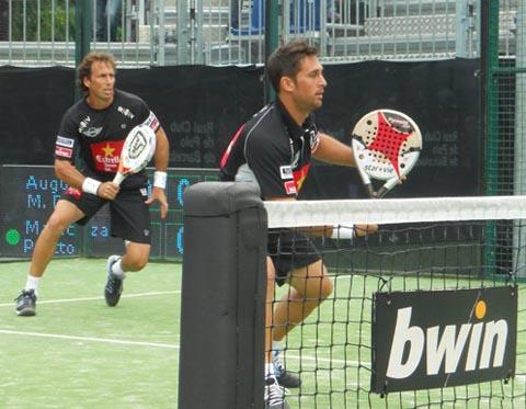 Bebe Aufuste y Matias Diaz padelgood El titulo de las remontadas. Bebe y Matías campeones en Fuengirola.