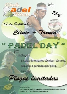 viñal padelgood Clinic Padel Day. Carolina Navarro y Vanessa Zamora