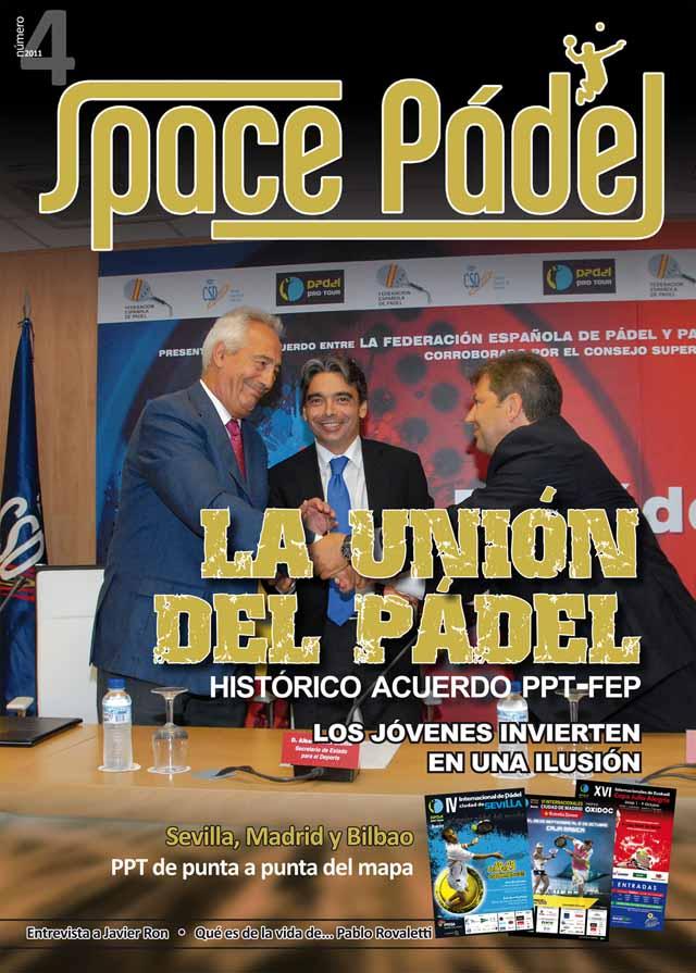 Portada SP 04 padelgood Número 4 de la revista Space Pádel.