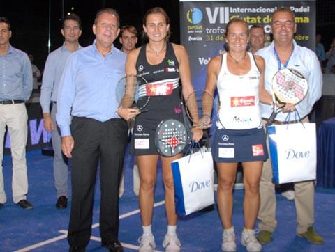 campeonas mallorca padelgood Navarro-Reiter acumulan trofeos.