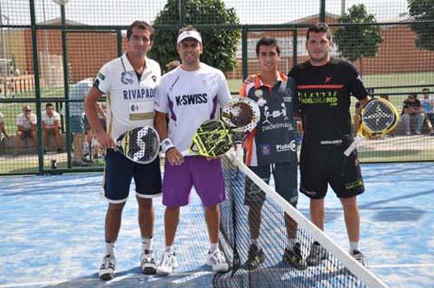pitu losada churriana Pitu Losada y David Gutierrez campeones del III Open Ciudad de Churriana.