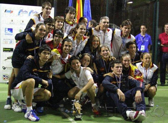 Menores campeones del Mundo La Roja Española de Menores Campeona del Mundo!