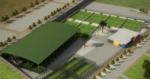 SoccerWorld padelgood SoccerWorld Zaragoza inaugura pistas de pádel