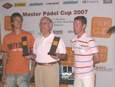 padelcup2007 Especial Xavi Colomina, bueno en el padel y con Waita TV maestro del vídeo