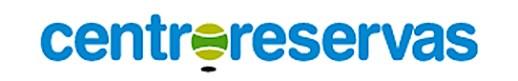 """Logo Centroreservas """"El club sin dinero"""" nuevo concepto de Centroreservas"""