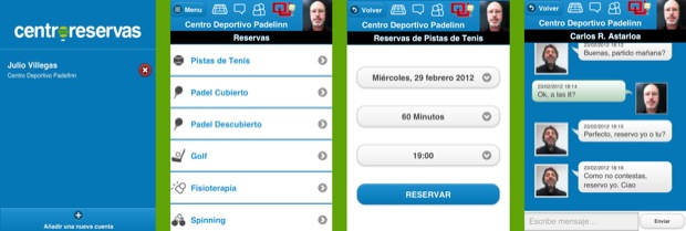 APP CENTRORESERVAS2 Nueva APP de @centroreservas para iphone, android y blackberry