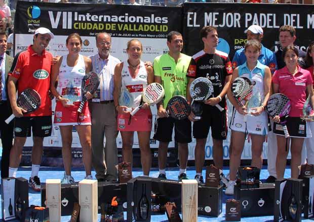 NOTA1 Díaz - Belasteguin y Navarro - Reiter se coronan en Valladolid