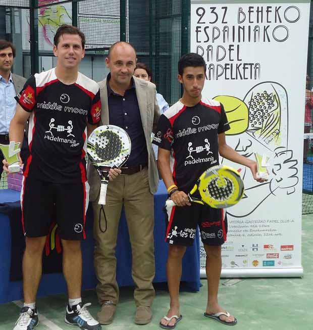 paquito cepero Ale Ruiz y Mati Marina, Campeones de España sub-23