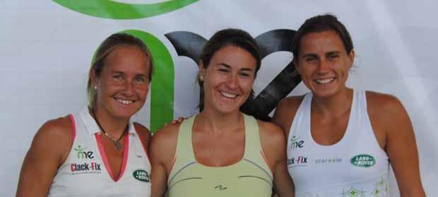 EQUIPOMAKIN1 Quieres conocer y jugar partidos con las nº1 del mundo, Carolina Navarro y Cecilia Reiter, y Vane Zamora?