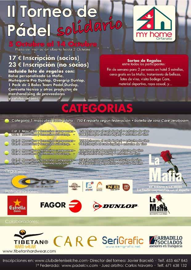 lamafia2 Club de Tenis Elche organiza la decimoseptima prueba federada de la temporada en Alicante