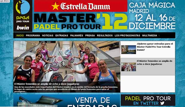 masterweb www.masterppt2012.com, la web del Máster de Madrid 2012