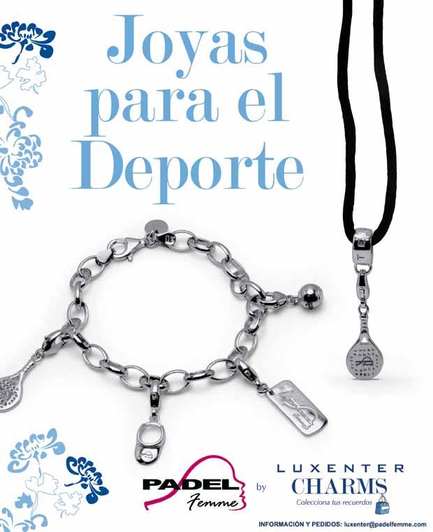 Cartel colección PADEL Femme by Padel Femme by Luxenter lanza su nueva colección para 2013.