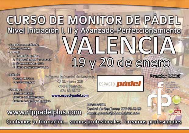 CARTEL CURSO MONITOR VALENCIA WEB
