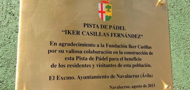 iker casillas padel