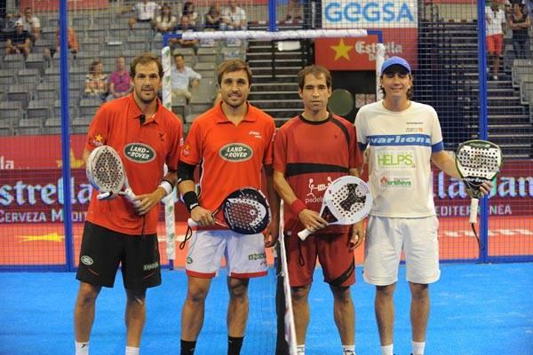 Juan Martín Díaz y Fernando Belasteguin vs Blanco Antelo y Sebastián Ramos