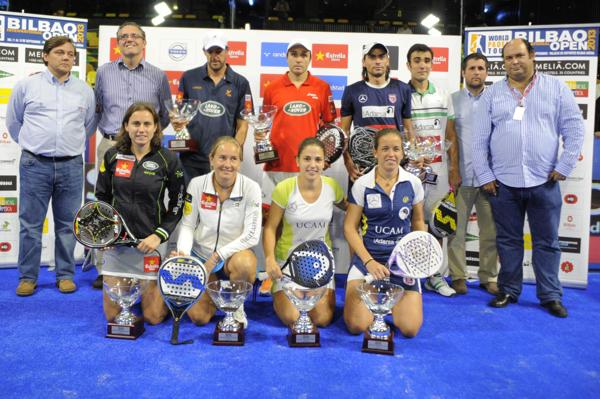 ganadores world padel tour bilbao 2013