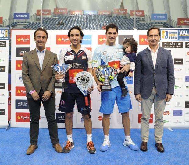 Los campeones, Maxi Sánchez y Sanyo Guitérrez