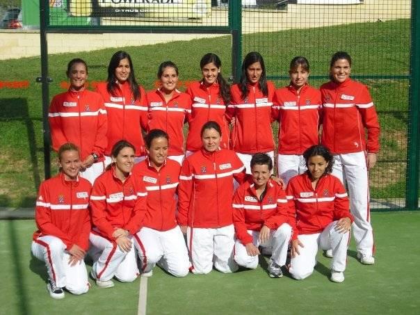 subcampeona de españa por equipos 1ra 2009