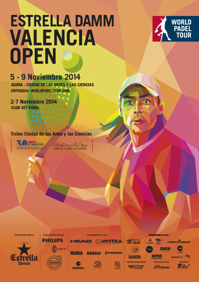 world padel tour valencia cartel