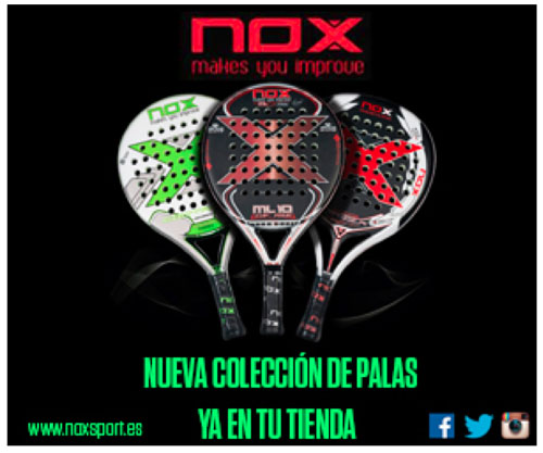 nueva coleccion palas nox 2015