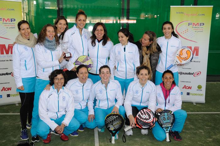 Chamartín campeonas de Madrid por equipos
