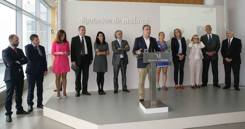 Presentación oficial del Campeonato del Mundo de Pádel Open 2015