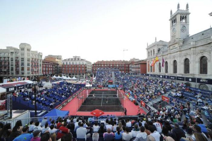 Plaza Mayor World Padel Tour Valladolid