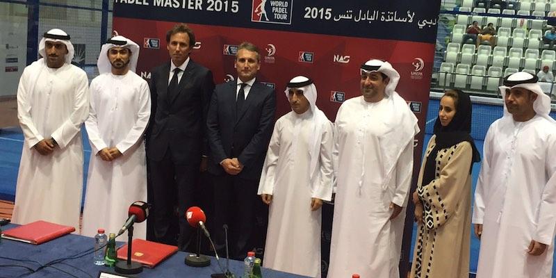Presentación oficial del Dubai Padel Master