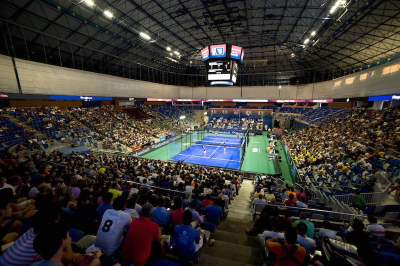 Master Malaga World Padel Tour Panoramica