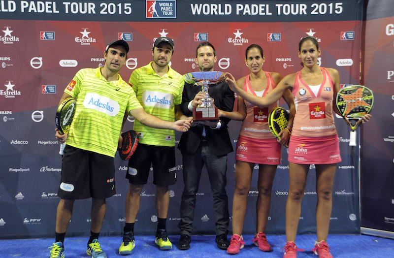 Campeones World Padel Tour Galicia 2015