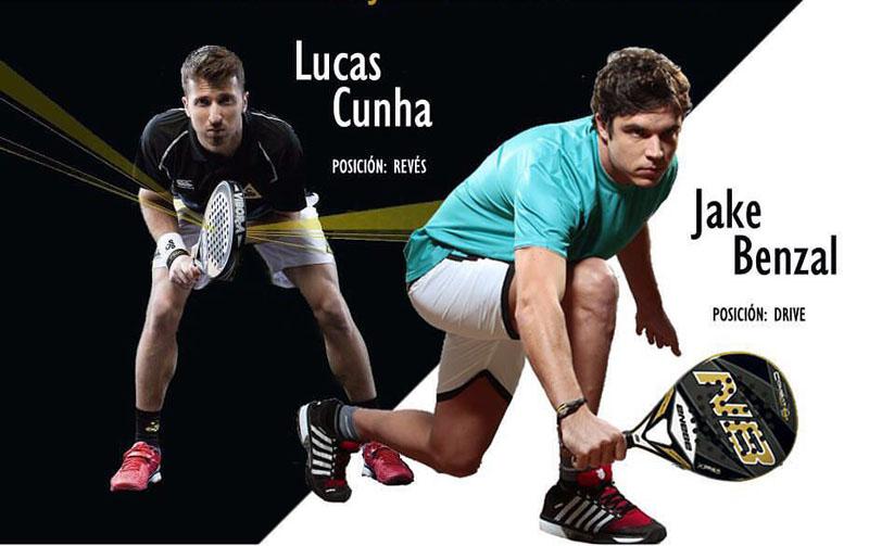 Lucas Cunha - Jake Benzal, nueva pareja World Padel Tour 2016