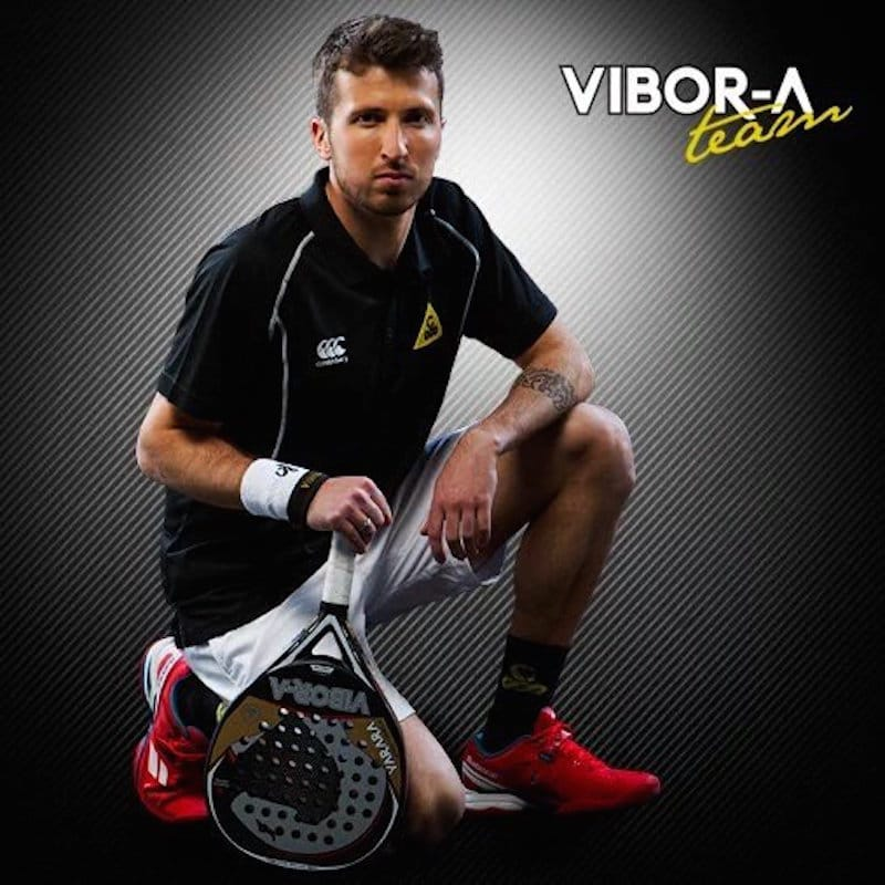Lucas Cunha renueva su vinculación con Vibor-a Padel un año mas