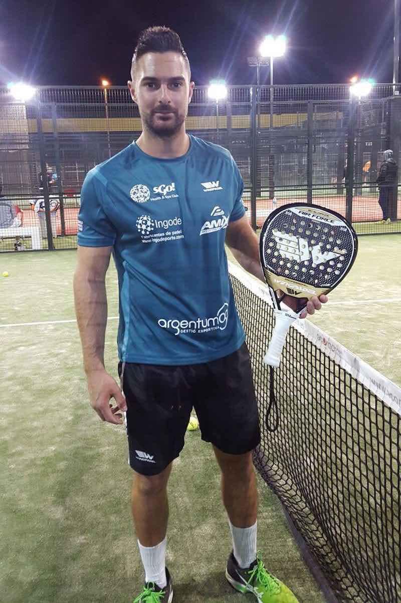 Cristian Ramos, nº2 de Valencia y nº 3 de España, fichado por Wingpadel